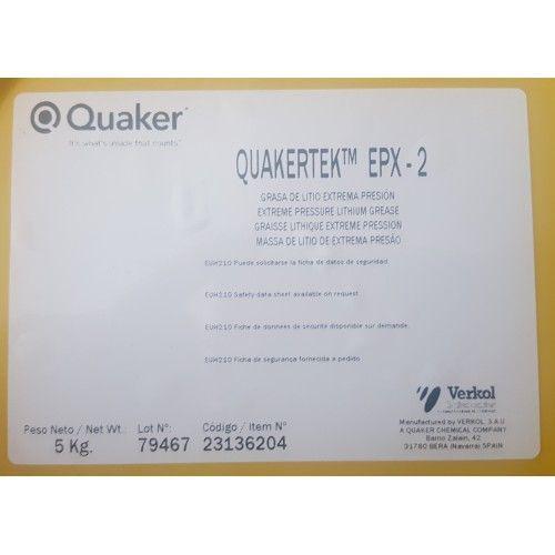 GRASA QUAKER (VERKOL) EPX-2 5Kg
