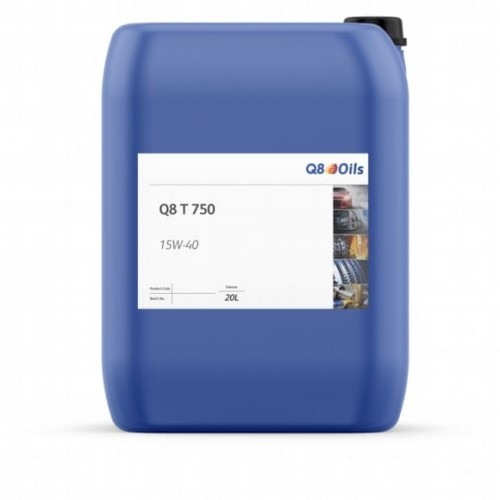 Q8 T 750 15W-40 OIL