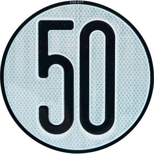 PLACA LIMITES VELOCIDAD 50 km/h