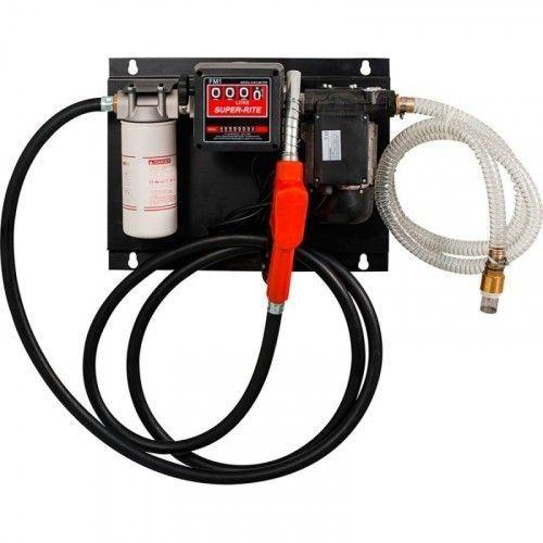 Kit bomba de trasvase diesel 220V. / AC Diesel pump set